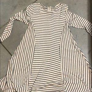 Black & Cream striped Altard state dress